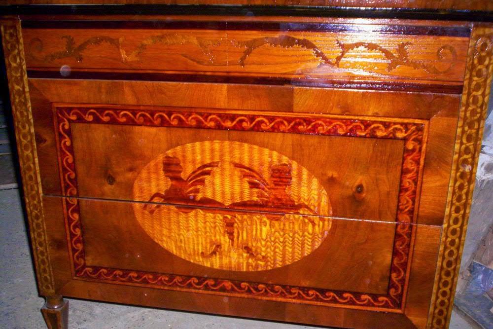 Antiker Möbelbau 08