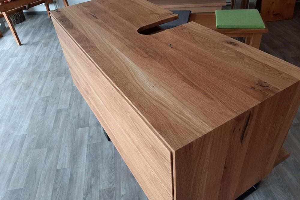 Holzunterschrank Badezimmer 02