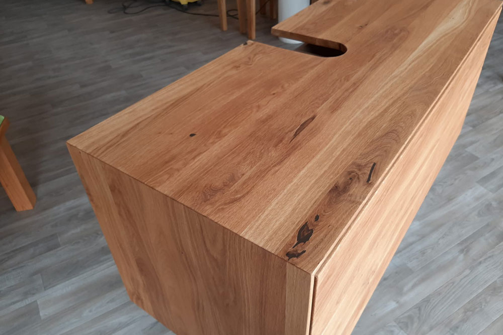Holzunterschrank Badezimmer 03