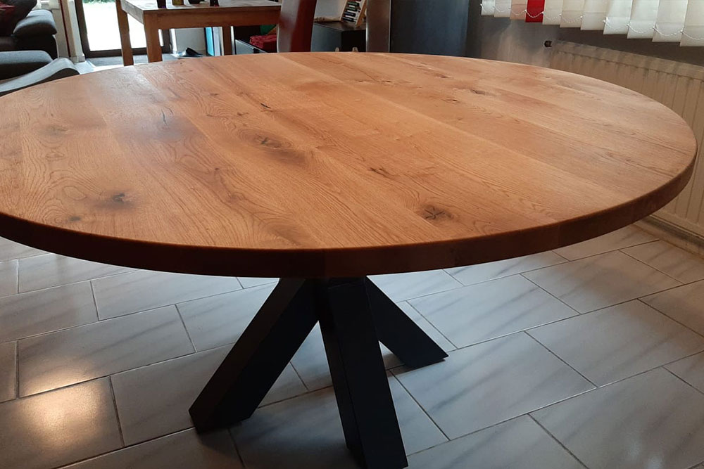 Esstisch Holz rund